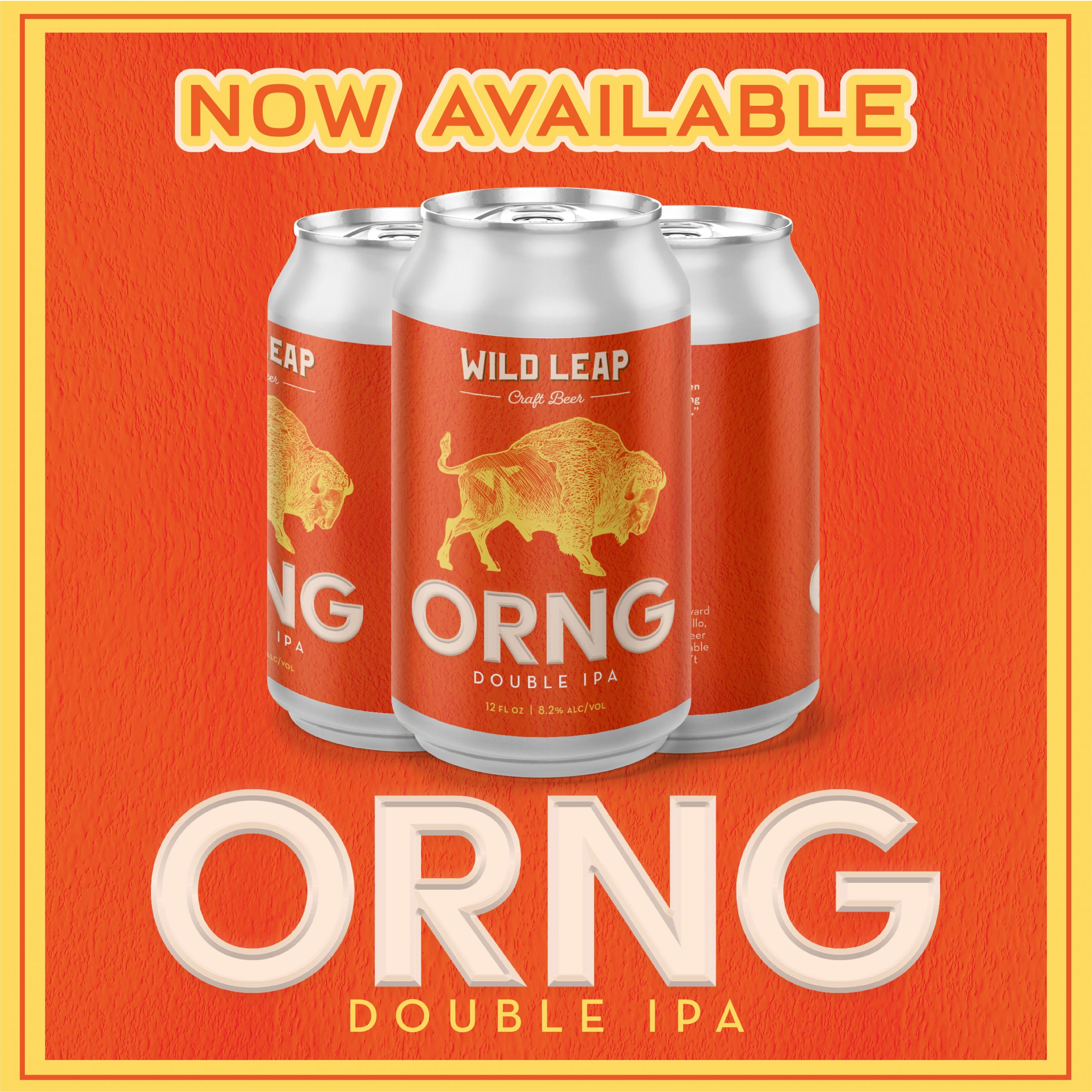 ORNG Double IPA Wild Leap